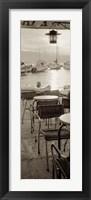 Portofino Caffe I Framed Print