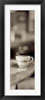 Framed Tuscany Caffe III