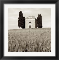 Tuscany IX Framed Print