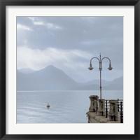 Framed Lake Vista VIII