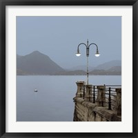 Framed Lake Vista VI