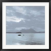 Framed Lake Vista VII