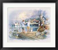 Framed Fishing Dock A