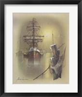 Framed Boat A