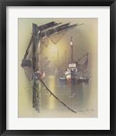Framed Boat B
