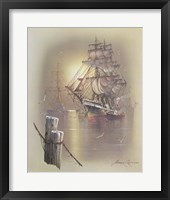 Framed Boat C