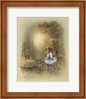 Framed Little Girl A