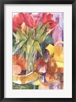 Framed Tabletop Tulips