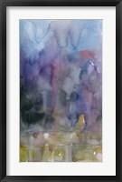 Framed Purple Background