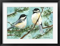 Framed Chickadee Chat