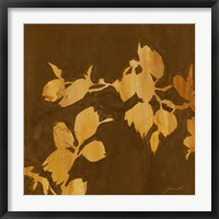 Framed Falling Leaves I