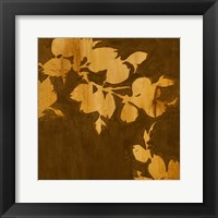 Framed Falling Leaves II