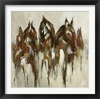 Framed Equestrian