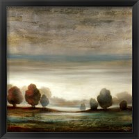 Framed Warm Horizon