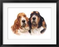 Framed Monty & Basil