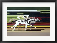 Framed Race Horses