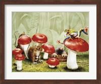 Framed Mushroom Meeting
