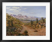 Framed Old Spanish Trail