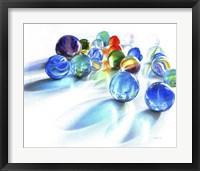 Framed Blue Marble Reflection
