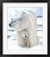 Framed Polar Love