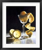 Framed Twisted Lemon