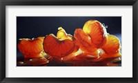 Framed Mandarin Orange