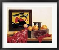 Framed 'Mornin Judge'