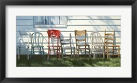 Framed Row Of Chairs