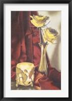Framed Candle Lit Roses