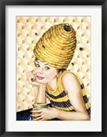 Framed Bee-Hive Hairdo