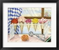 Framed Begonias A La Mode