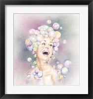 Framed Bubble Head