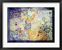 Framed Costa Rican Mosaic