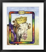 Framed Dairy Queen