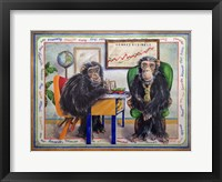 Framed Monkey Business
