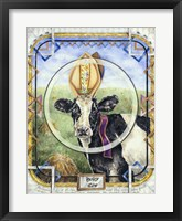 Framed Holey Cow