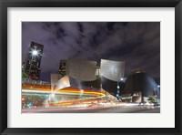 Framed Bus Streak Disney Concert Hall