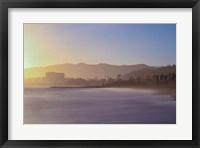 Framed Down the Beach