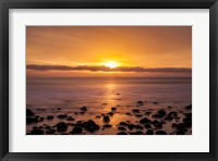Framed Pacific Sunset