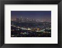Framed LA Skyline