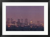 Framed LA's Early Morning Light