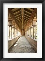 Framed USC Hall Color