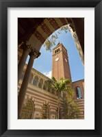 Framed USC Tower