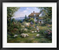 Framed Home Sheep Home