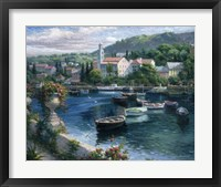 Framed Harbor Boats