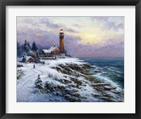 Lighthouse 4 Framed Print
