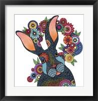 Framed Mr. Rabbit
