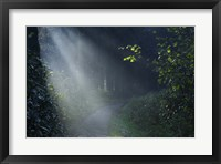 Framed Beam of Light