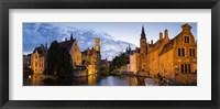 Framed Panorama Brugge