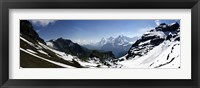 Framed Panorama Switzerland